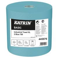 Katrin Basic Industrial Towel XL 2 Blue